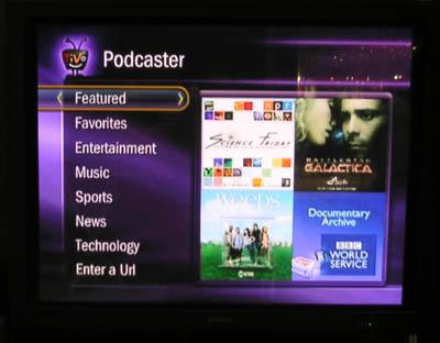 TiVo Podcaster