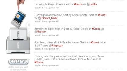 Sonos controller Twitter