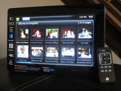 HP DreamScreen Snapfish