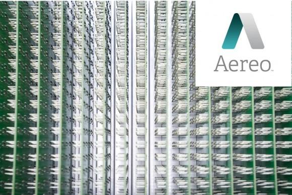 Aereo logo and antenna array