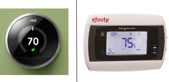 Nest vs Comcast smart thermostat