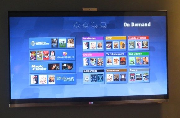Hillcrest HoME TV UI 1