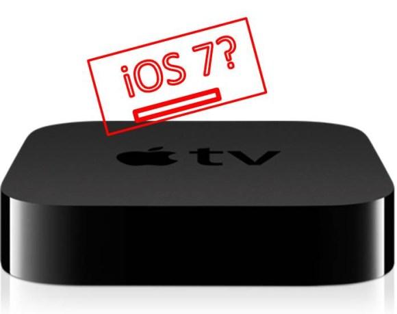 Apple TV with iOS 7