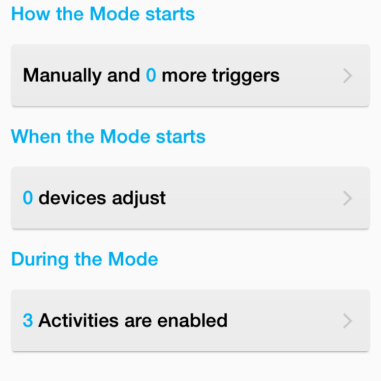 SC3 Modes