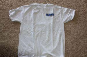 Shirt front square logo