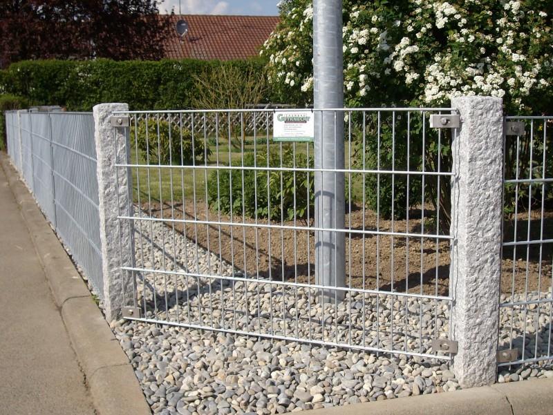Referenzen Doppelstabmatten fr Heim und Garten  Zaunbau Gutknecht