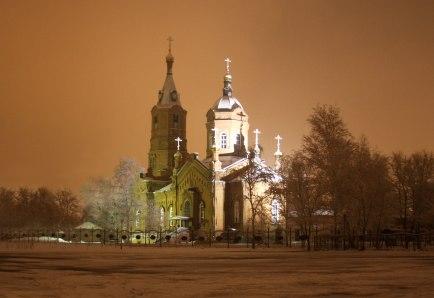 Памятник культового зодчества - Александро-Невская церковь-1