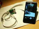 Remote camera for cell phone
