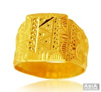 22k Indian Mens Ring