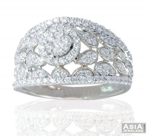 18K Exclusive Diamond Ring Ajdr57600 US 1771 18k