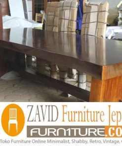 meja trembesi panjang solid - Toko Furniture Jepara | Spesialis Mebel Jepara Online Kota Ukir