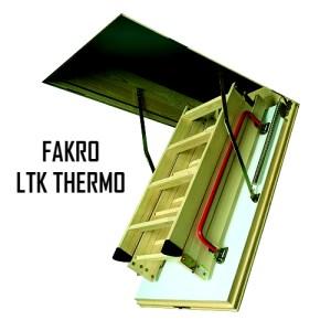 Чердачная лестница FAKRO LTK THERMO 70-120-280 - ZAVODKM