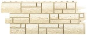 Фасадные панели BURG (ЗАМОК) - цвет Белый - ZAVODKM