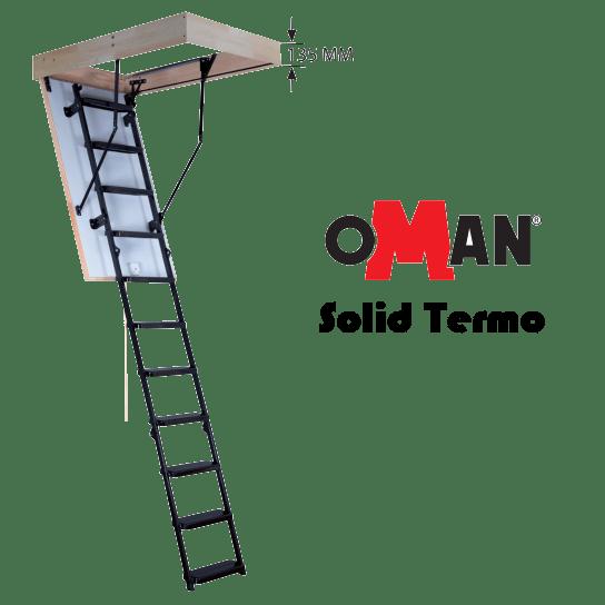 Лестница Oman Solid Termo - ZAVODKM