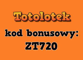 kod bonusowy totolotek