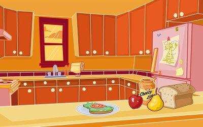 simple kitchen cartoon design ZAXX Discount Kitchen Cabinets in Wisconsin & Minnesota