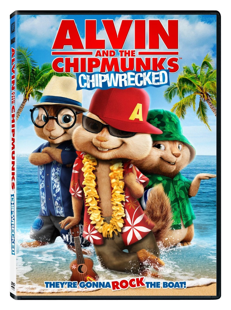 --CLOSED--Alvin & The Chipmunks - ChipWrecked--CLOSED--