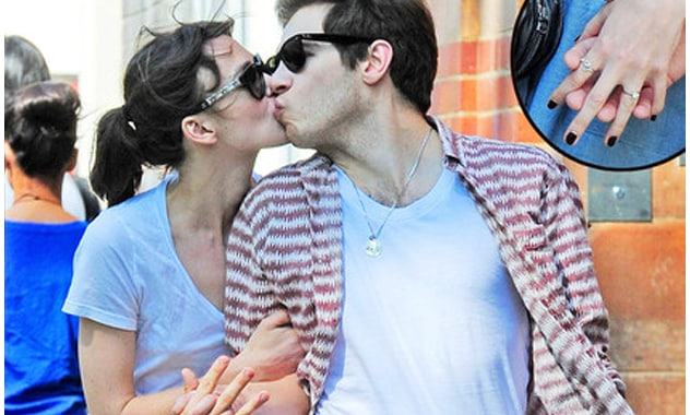 Keira Knightley's Engagement Ring Spotted During Romantic Stroll With James Righton