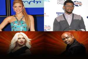 'The Voice': Shakira And Usher To Replace Christina Aguilera and Cee Lo Green As Coaches For Fourth Cycle 1