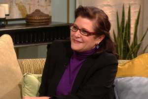 Carrie Fisher open to 'Star Wars' return