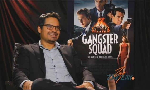 Gangster Squad - Interviewing Michael Pena