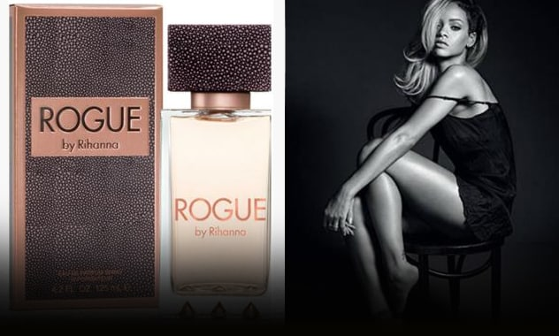 "Rihanna Unveils Gray Hair and New ""Rogue"" Fragrance 2"