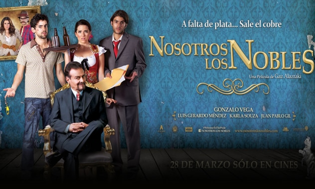 One of Mexico's All-Time Highest-Grossing Films, Nosotros Los Nobles, Gets U.S. Theatrical Release by Leading Spanish-Language Movie Channel Cinelatino 2