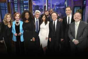Jay Leno Gets Super Star Send Off From Some Celebrity Friends 2