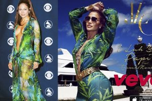 JLo Repurposes An Old Dress For A Fresh Look In New Video