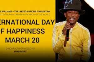 Pharrell, UN Celebrate International Day of Happiness 4