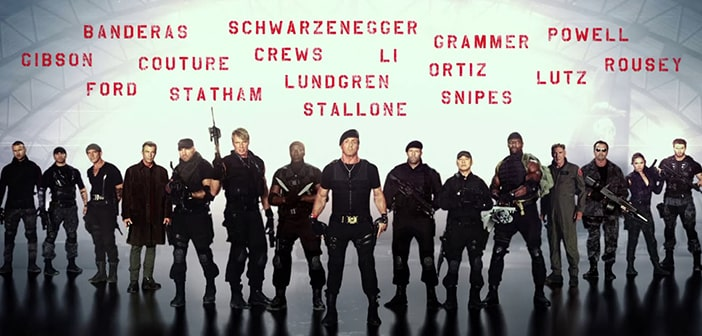 Check out these 16 cool new EXPENDABLES 3 Posters & Teaser Trailer 17