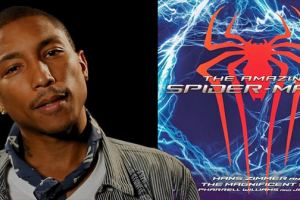 Pharrell Williams drops single 'Here' from 'The Amazing Spider-Man 2' soundtrack