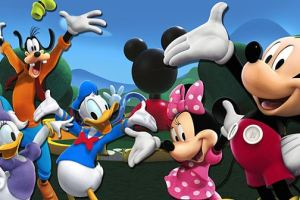 MICKEY MOUSE CLUBHOUSE: AROUND THE CLUBHOUSE WORLD, In stores May 20th! 2