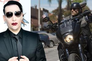 Marilyn Manson to play Regular role in FX's 'Sons of Anarchy'