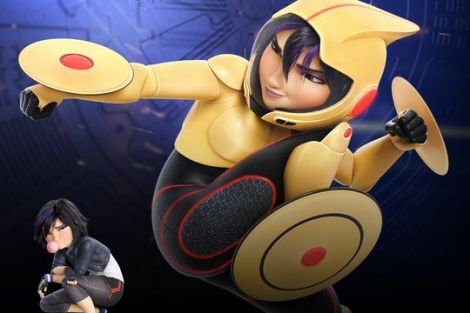 "WALT DISNEY ANIMATION STUDIOS Unleashes ""Big Hero 6"" Lineup 4"