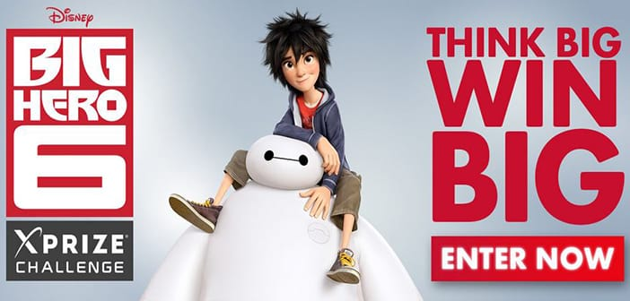 """Heroes Wanted! XPRIZE Launching Video Contest To Form The Real-Life """"Big Hero 6"""""""