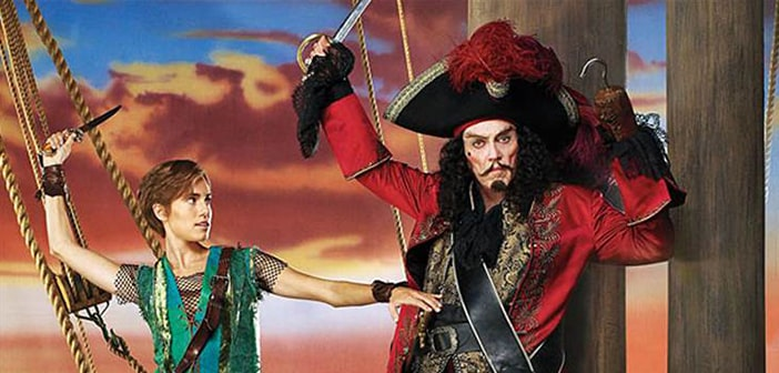 'Peter Pan Live!' stars Allison Williams and Christopher Walken - See Walken as Hook