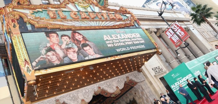 ALEXANDER AND THE TERRIBLE, HORRIBLE, NO GOOD, VERY BAD DAY Premiere Images