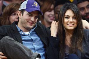 Ashton Kutcher and Mila Kunis Welcome Baby Girl Into Their Lives