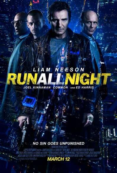 Run all Night one sheet