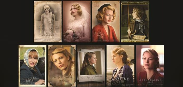 THE AGE OF ADALINE - Adaline Through the Ages 'Character Posters' Revealed