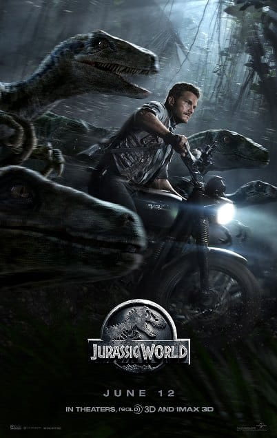 Jurassic World Tall posters (4)