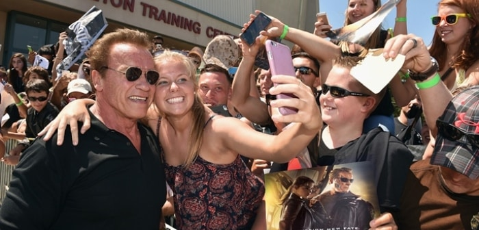 TERMINATOR GENISYS: ARNOLD VISITS CAMP PENDLETON IN SAN DIEGO 9
