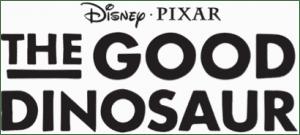 good dinosaur title treatment