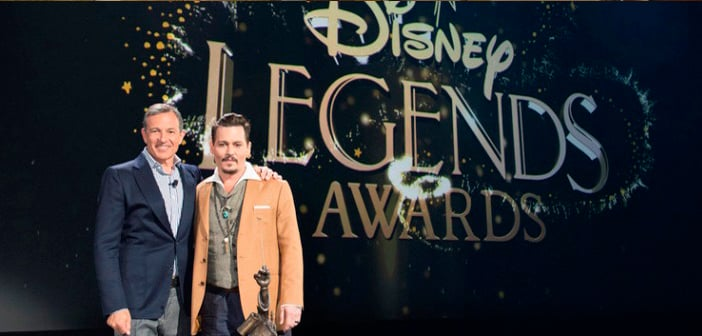 Disney's D23 Expo Gets Surprise Appearance By Johnny Depp In Recognition Of Induction As A 'Disney Legend' 1