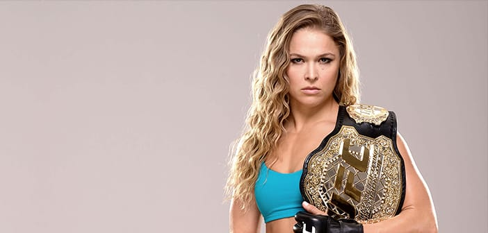 Undefeated UFC Women's Bantamweight Champion Ronda Rousey Will Be Starring In Her Own Biopic