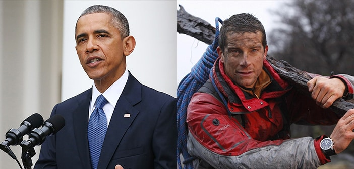 President Obama Decides To Join Bear Grylls For This Weeks ' Running Wild' Episode