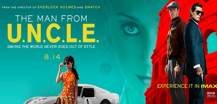 THE MAN FROM U.N.C.L.E. Film Stills and BTS Images 2