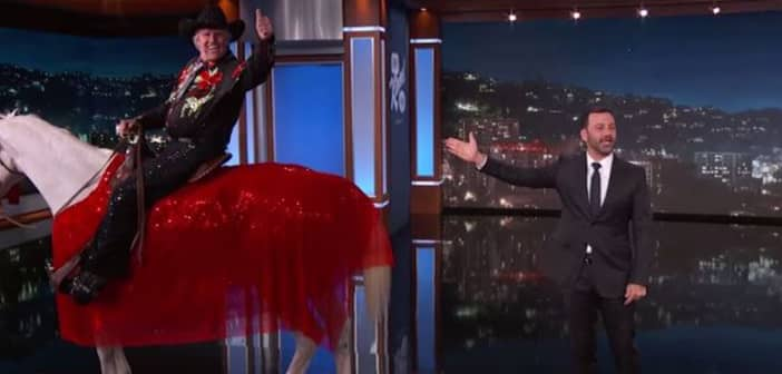 Gary Busey Went To Jimmy Kimmel To Shares News Dancing with the Stars