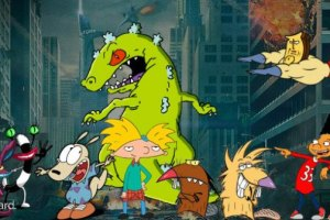 Nickelodeon's '90s Cartoons Are Returning In A New Multi Crossover Movie